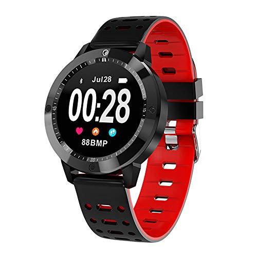 Fitness de Gama Alta Monitorización de la presión Arterial y la frecuencia cardíaca Pantalla a Color Pulsera Deportiva Bluetooth Pantalla Redonda Reloj Inteligente Podómetro