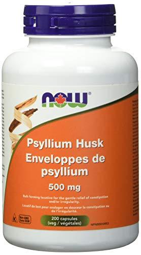 NOW Psyllium Husk 500mg 200 Capsules