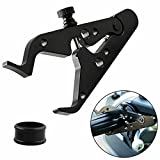 Universal Motorcycle Cruise Throttle Assist, Powersports Throttles Control Hand Grip Lock Clamp Clip Grip with Silicone Rings for Most Motorcycles and Sportbikes, Aluminum & Easy to Adjust