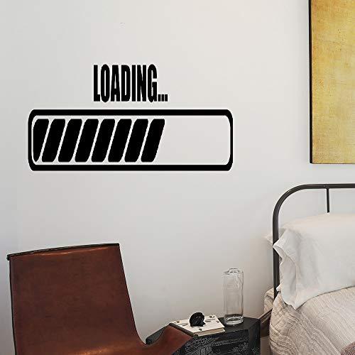Laptop Spiel Wandtattoo Zitat Gamer Laden Aufkleber Für Spielzimmer Vinyl Abnehmbare Kunstwand Graphics Interior Home Decor für schlafzimmer