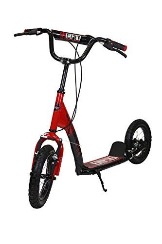 KRF The New Urban Concept Scooter Bike Patinetes, Niñas, Rojo (Rojo), 12'