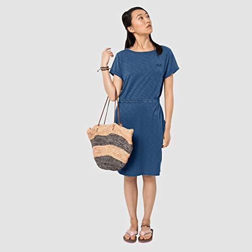 Jack Wolfskin Travel Robe Femme, Ocean Wave, FR : L (Taille Fabricant : L)