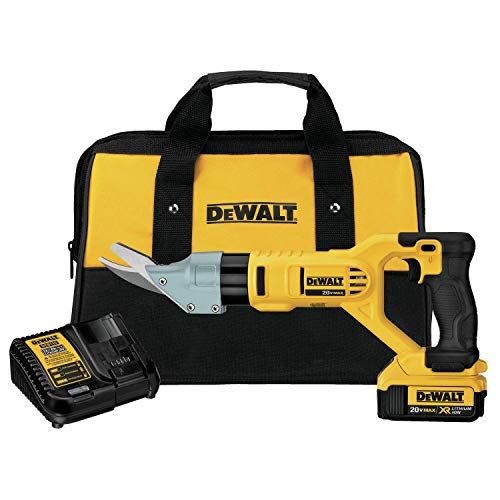 Buy Bargain DEWALT DCS498M1R 20V MAX Lithium-ion 5/8-inch Cordless Fiber Cement Shears Kit (Renewed)