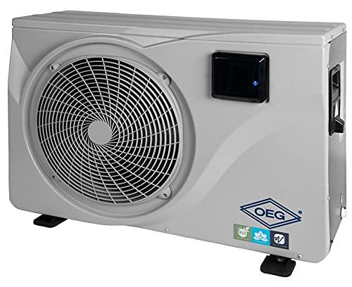 OEG Pool Wärmepumpe 12,5 kW 230V mit Invertertechnik & Titan-Wärmetauscher Schwimmbadheizung