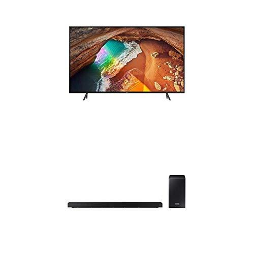 "Samsung QE55Q60RATXZT Serie Q60R (2019) QLED Smart TV 55"", Ultra HD 4K, Wi-Fi, Nero con Samsung HW-Q60R/ZF Soundbar da 360 W, 5.1 Canali, Nero"