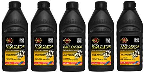 Penrite Oil 10 Tenths Race Olio Sintetico di ricino 20W40, a Due Tempi, Rotary Rx7 Rx5, 5 Lit
