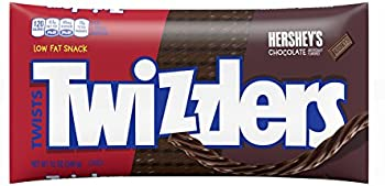 6-Pack Twizzilers Chocolate Licorice Candy, 12 Ounce Bag