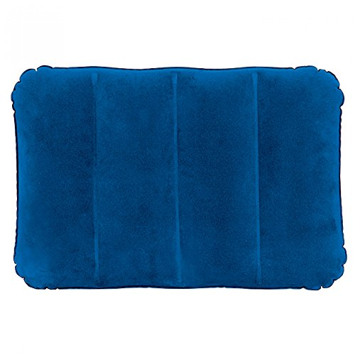 Jilong I-Beam Pillow 48x34x12 cm Reisekissen Luftkissen Kopfkissen aufblasbares Velour Kissen