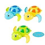 NIWWIN Classic Baby Bad Spielzeug Uhrwerk Schildkröte Für Kleinkinder Jungen Mädchen, Aufziehen Wasserspielzeug Schwimmen Schildkröte Sommer Pool Bad Float Spielzeug
