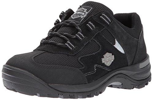 HARLEY-DAVIDSON FOOTWEAR Women's WINCREST Work Boot, Black, 7 M US