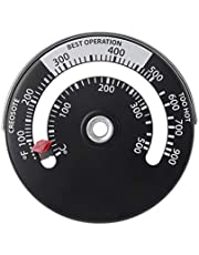 geneic Magnetische kachel rookgaspijp Thermometer Multi brandstof houtkachel houtkachel kachel kachel pijp