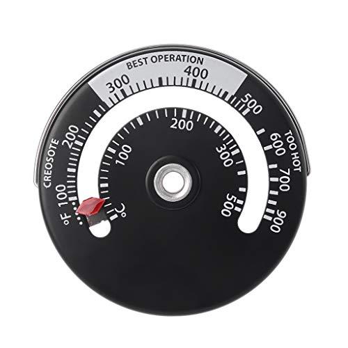 NA. Magnetisches Ofenrohr-Thermometer, für Holzofen, Holzofen, Ofenrohr