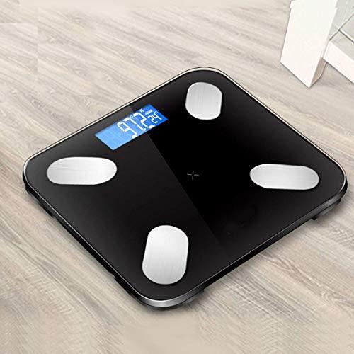 LXYZ Haushaltsfettwaage Weiß Aufladung Intelligente Körperfettwaage Gesunde Gewichtswaage Elektronische Waage Körper