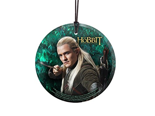Trend Setters The Hobbit – Legolas - Starfire Prints Hanging Glass - Ideal for Gifting and Collecting