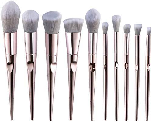 MU Beauté Maquillage Outils Pinceau, Fondation Correcteur Ombre à paupières de mélange Badigeonner avec sac de rangement