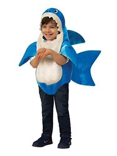 Rubie's Kids' Toddler Daddy Shark Costume With Sound Chip, As Shown, Small