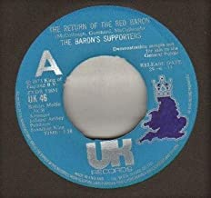 BARON'S SUPPORTERS - RETURN OF THE RED BARON - 7 inch vinyl / 45 record
