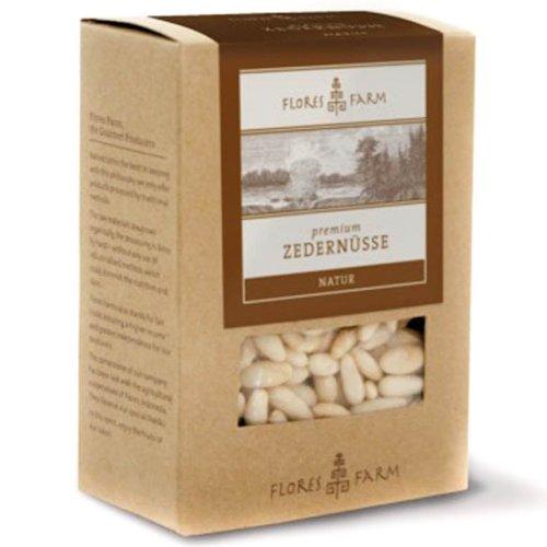 Flores Farm Premium Bio Zedernüsse (1 x 80 gr)
