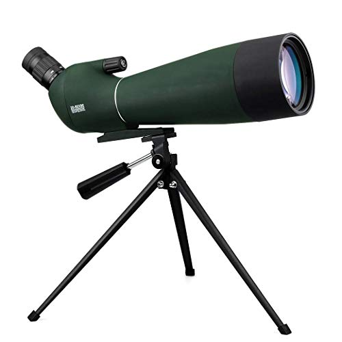 Best Price Spotting Scope with 20x-60x Zoom, 80MM Large Caliber Waterproof, Fully Multi-Coated Optic...