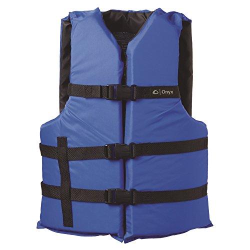 ONYX General Purpose Boating Life Jacket Universal, Blue