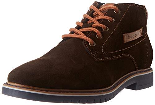bugatti Herren 311837321400 Mode-Stiefel, dark brown, 40