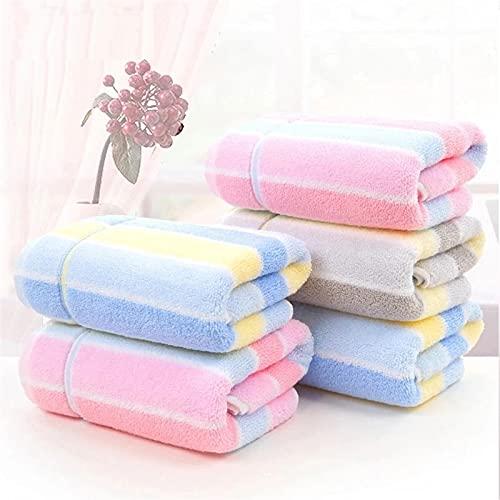 Set asciugamani a secco rapido, asciugamano in cotone morbido, lussuoso e...