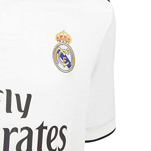 adidas Real Madrid Home Maillot Mixte pour Enfant 18/19 XL B