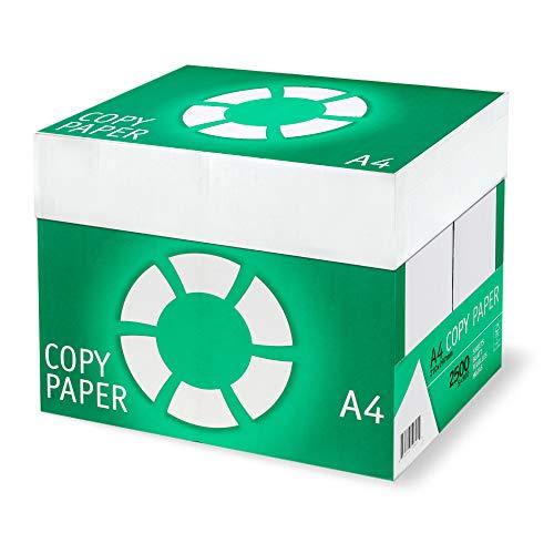 Kopierpapier Druckerpapier Copy Paper Green FSC DIN A4 80g/m² Hohe Weiße 5000 Blatt