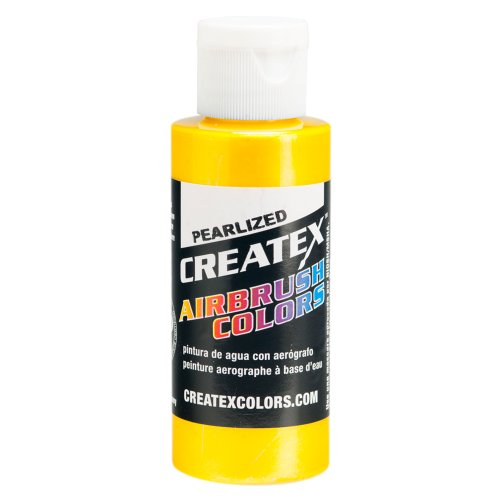 CREATEX aérographe Bleu Clair 60 ML SUNRISE YELLOW