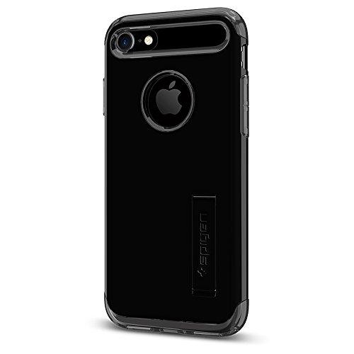 Spigen Cover Slim Armor Compatibile con Compatibile con iPhone 8 Compatibile con iPhone 7 - Jet Black
