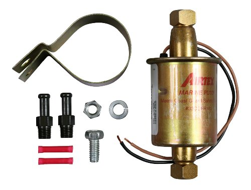 Airtex E8251 Universal Solid State Electric Fuel Pump for Marine Applications