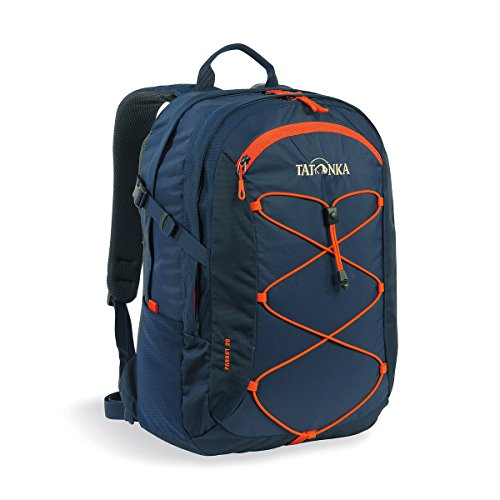 Tatonka Laptop-Rucksack Parrot 29 - Daypack mit 15 Zoll Notebookfach - fasst mehrere DIN A4-Ordner - für Damen und Herren - 29 Liter - Navy