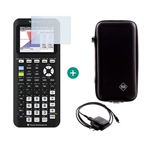 TI-84 Plus CE-T + Schutztasche + Displayschutzfolie + Ladekabel