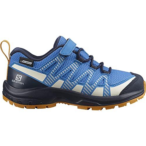 Salomon ZA PRO V8 CSWP K Zapatillas de niños con botín ClimaSalomon Waterproof Bootie para uso exterior