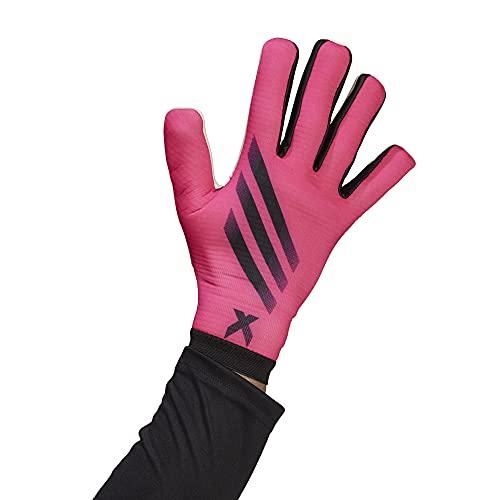 adidas Unisex X GL TRN Spielerhandschuhe, Rosa/Schwarz (Rossho), 41