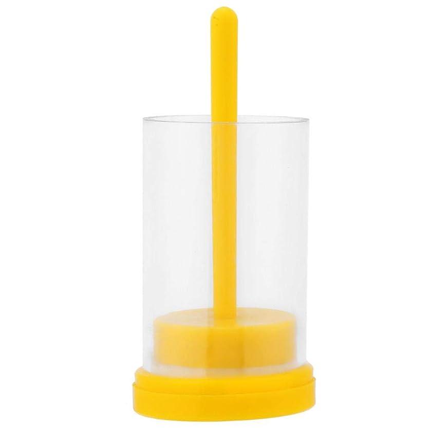 鼓舞するウォーターフロント黄ばむクイーンビーマーカー1PC 蜂の巣用 便利なソフトプランジャー付き マーキングケージボトル