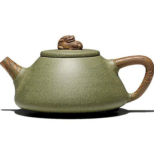 Purple Clay Teapot Handmade Purple Clay Pot 300Cc