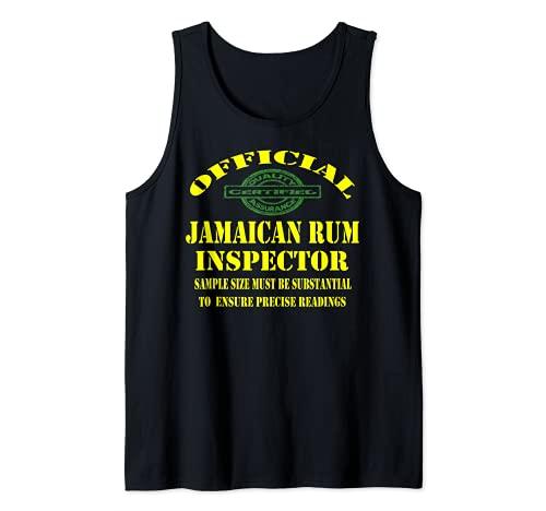 Jamaicano Amber Ron Jamaicano Plato Amante de Alimentos Camiseta sin Mangas