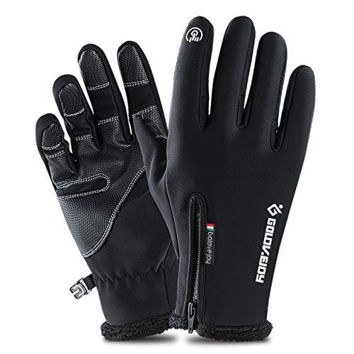Tree-on-Life Outdoor wasserdichte Radfahren Ski Handschuhe Winter Touchscreen Männer Und Frauen Winddicht Warme Reiten Vollfinger Reißverschluss Handschuhe