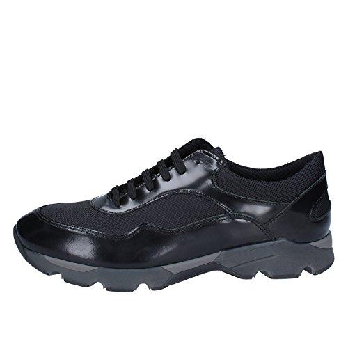 Baldinini Sneakers Herren Leder schwarz 43 EU
