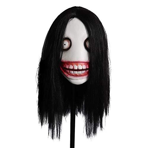 Jeff The Killer Mask Legend Urbano Máscara De Terror Masquería Masquerade Partido Película Props Bar Music Festival Carnival Pascua Halloween