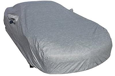 Leader Accessories Corvette Gray Custom 7 Layer Car Cover