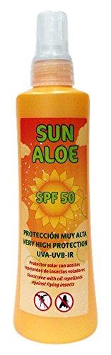 Thermal Teide 170590 - Spray SPF 50 con aceites repelentes de insectos, 200 ml