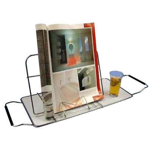 大木製作所(Ohki)浴室用ラックステンレス58x26x3.5cmバスブックスタンド