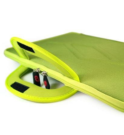 Green Thin-Form-Factor Hard-Shell Nylon EVA Ethylene Vinyl Acetate Carrying Case Briefcase for Apple MacBook Air MC504LL/A 13.3-Inch Laptop ….. Best Seller on Amazon!