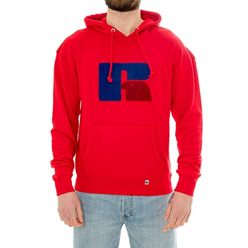 Russell Athletic Sweatshirt Man Chenille Hoody E9.608.1.426.T4 (M - 426.T4)