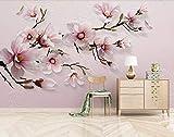 Papier Peint Mural Poster Photo Géant 3D Fleurs vintage Autocollant pour Salon...