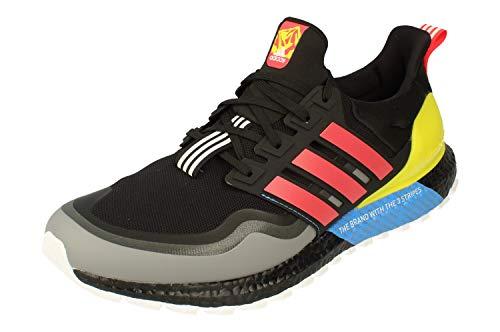 adidas Ultraboost All Terrain Mens Running Trainers Sneakers (UK 10.5 US 11 EU 45 1/3, Black Yellow White EG8097)