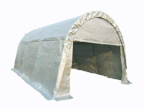 Quictent 10'x20' Heavy Duty Carport Gazebo Canopy Garage Car Shelter White