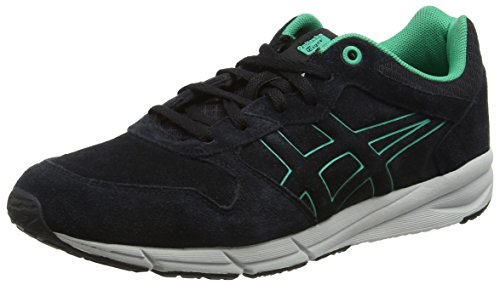Asics Shaw Runner, Sneakers basses mixte adulte - Noir (Black 9090), 37.5 EU